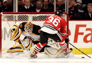 Bruins Blackhawks Hockey
