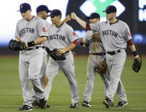 Fist Bumps for the Sox