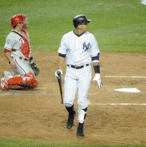 A-Rod Strikes Out. Awesome.