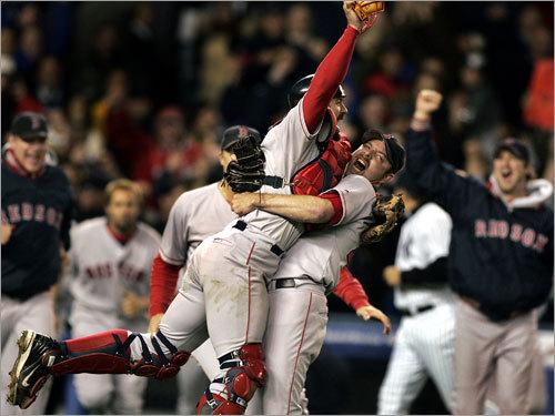 Curse Over. Yankees Choke.