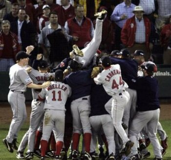 The Boston Red Sox Are World Series Champions.